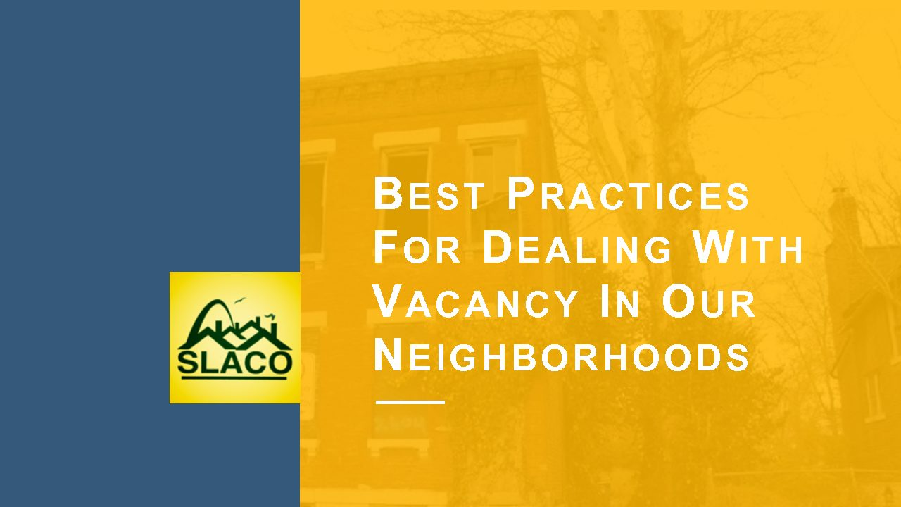Best Practices for Dealing with Vacancy
