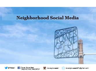 Neighborhood Social Media
