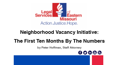 Neighborhood Vacancy Initiative