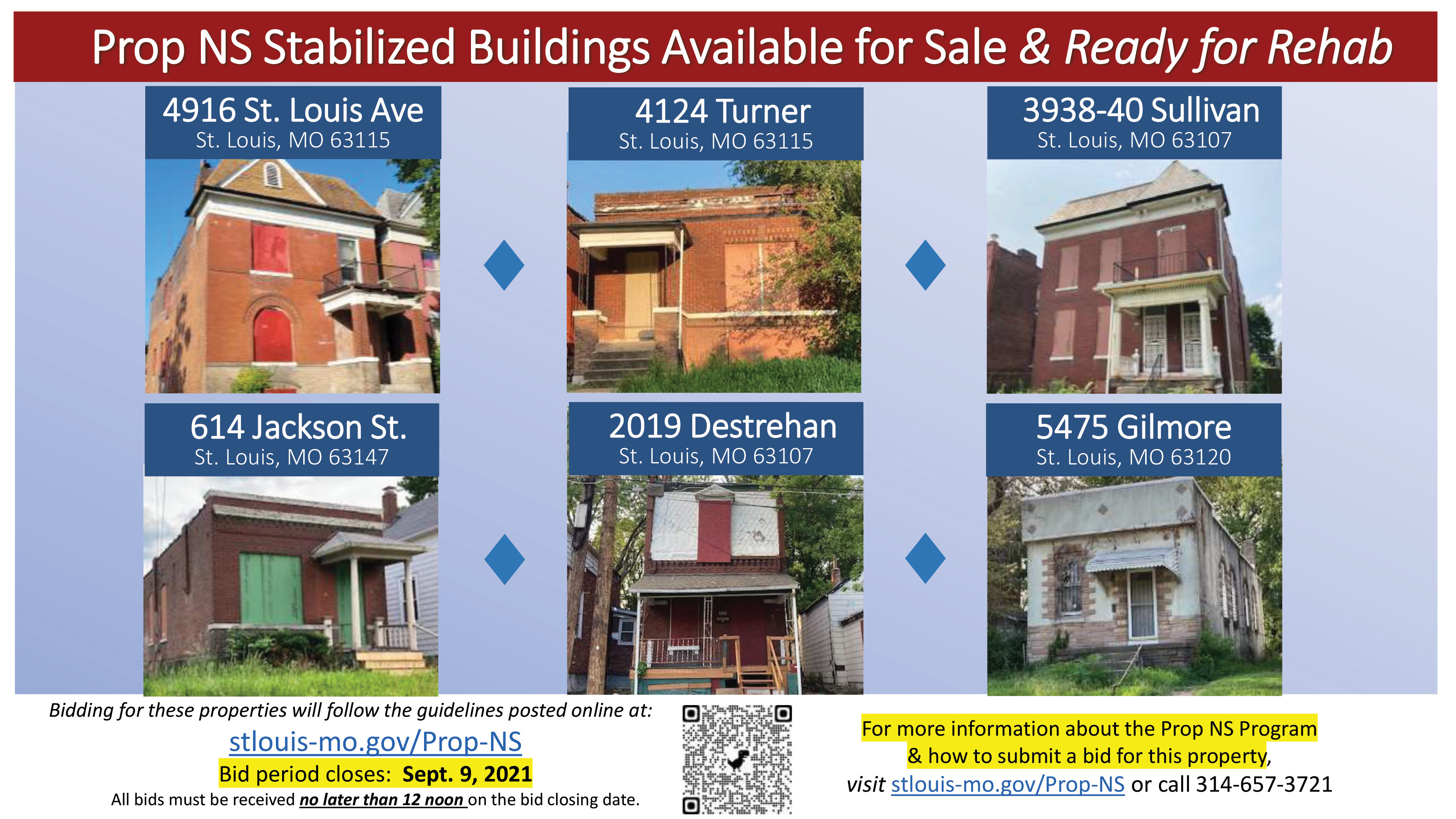 New round of Prop NS-stabilized buildings now open for offers through Sept. 9 at noon